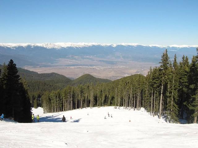 Ski slopes, Bansko