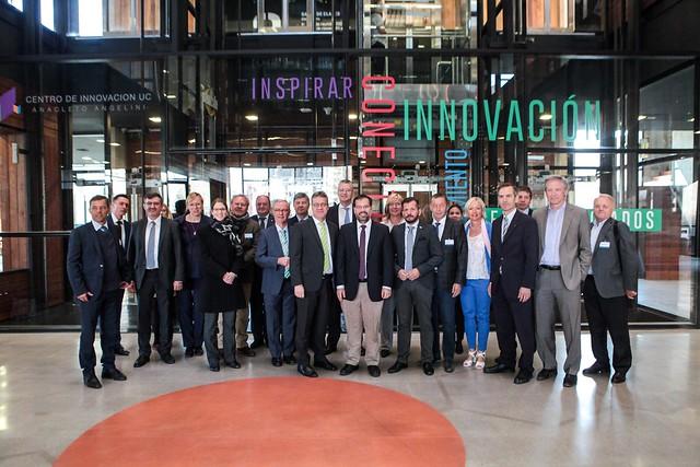 Visita delegación de Hessen, Alemania