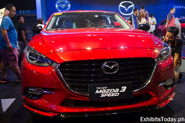 New Mazda 3 Speed (Red)