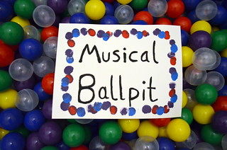 Musical Ballpit Sign