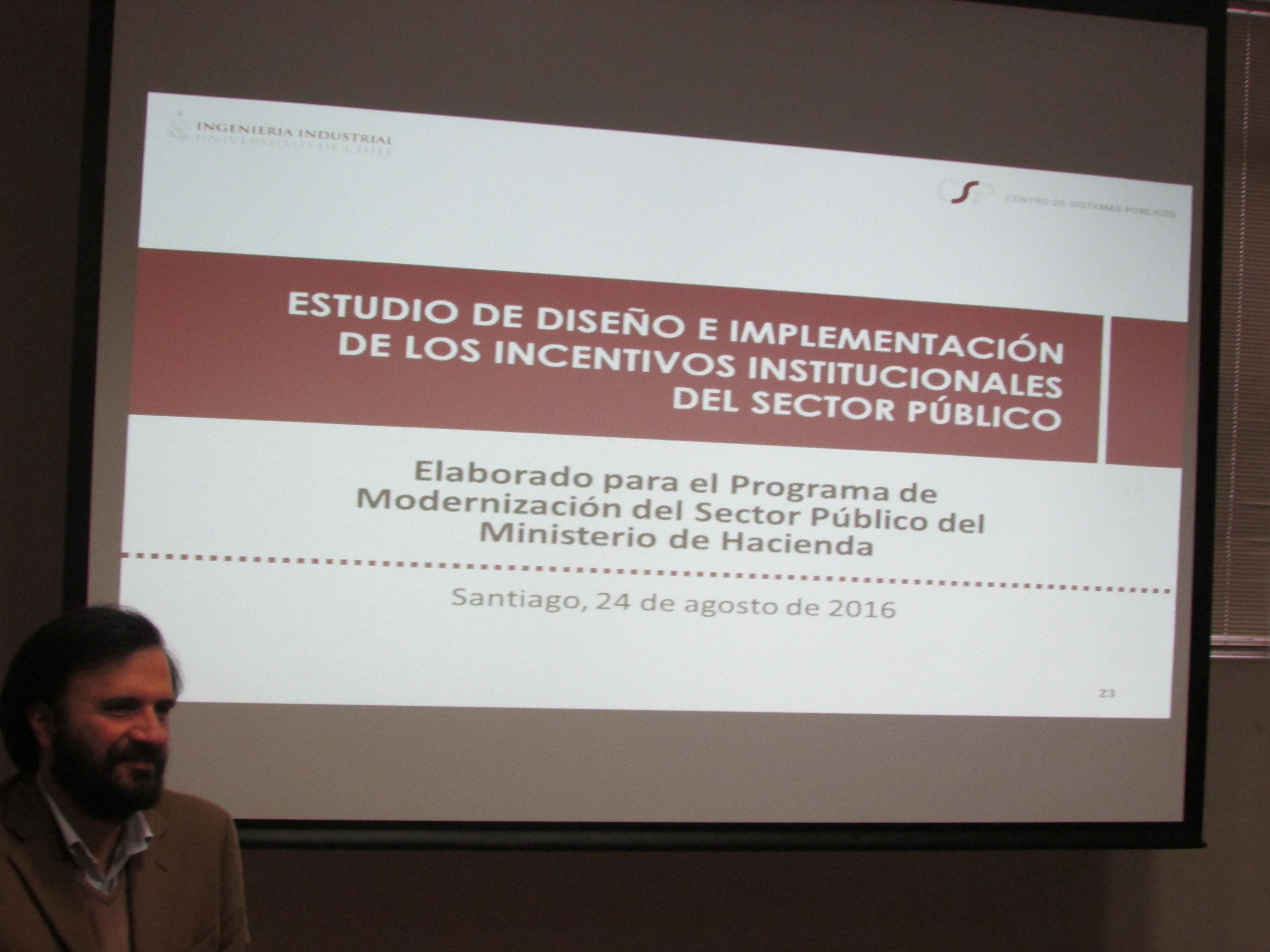 Reunión informe U. de Chile sobre PMG - 24 Agosto 2016