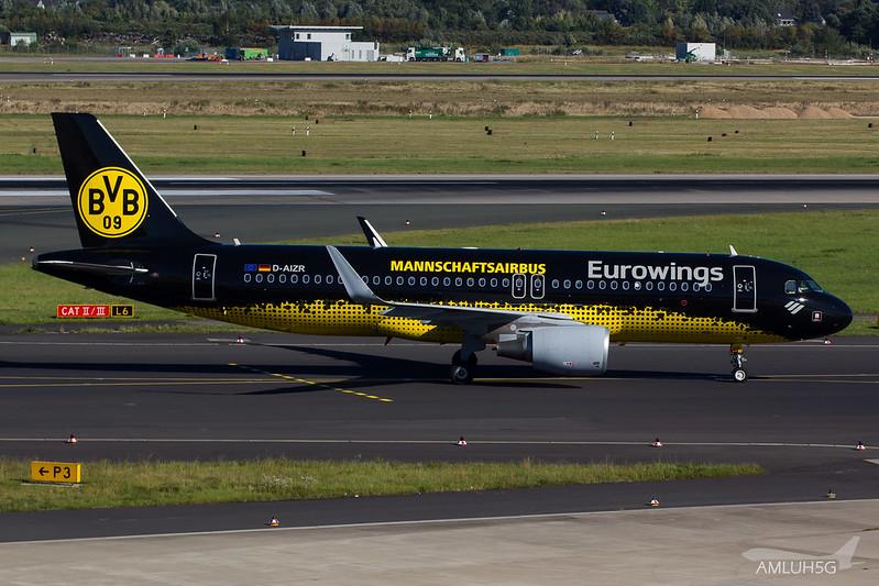 Eurowings - A320 - D-AIZR (1)