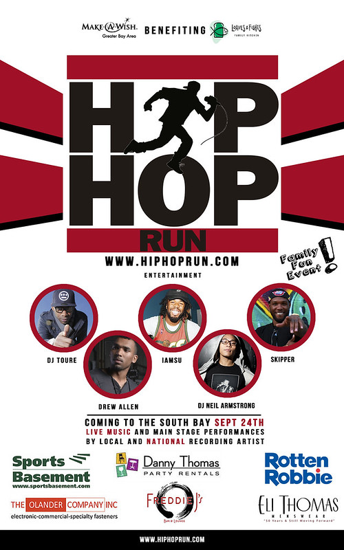 Sept 24th - HIPHOPRUN San Jose