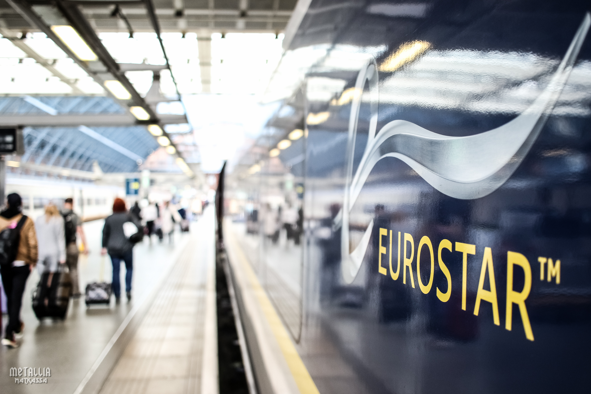 eurostar, from paris to london by train