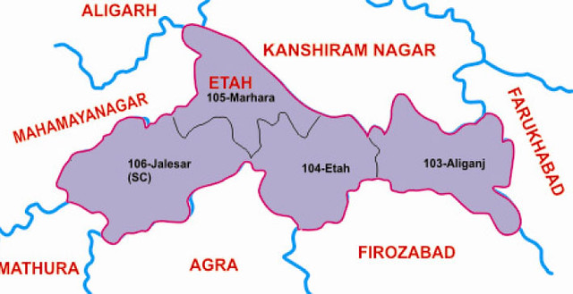 Etah district Uttar Pradesh Election 2017