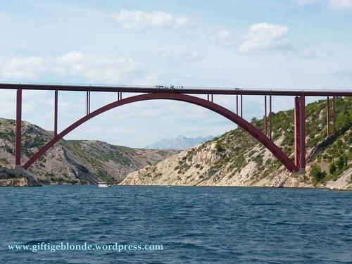 eine der Brücken bei Maslenica