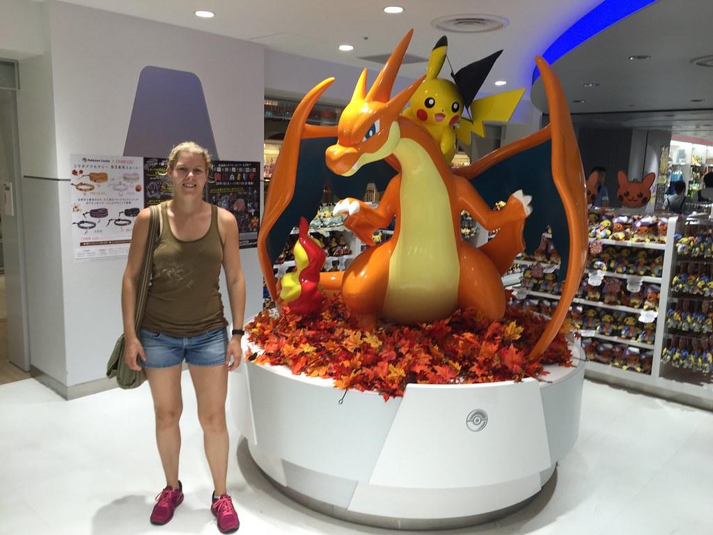Pokémon store Sunshine City Pikachu
