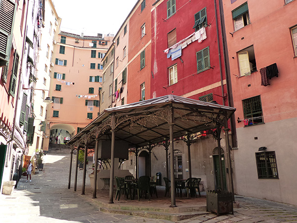 place sainte brigitte à Gênes