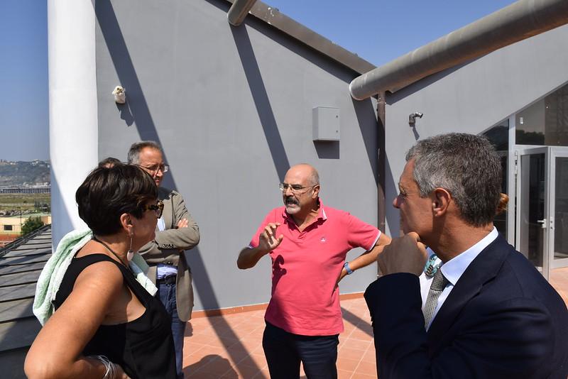 Delegazione di FICO Eataly World in visita a Città della Scienza