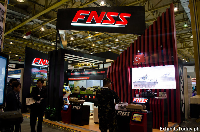 FNSS Exhibit Booth