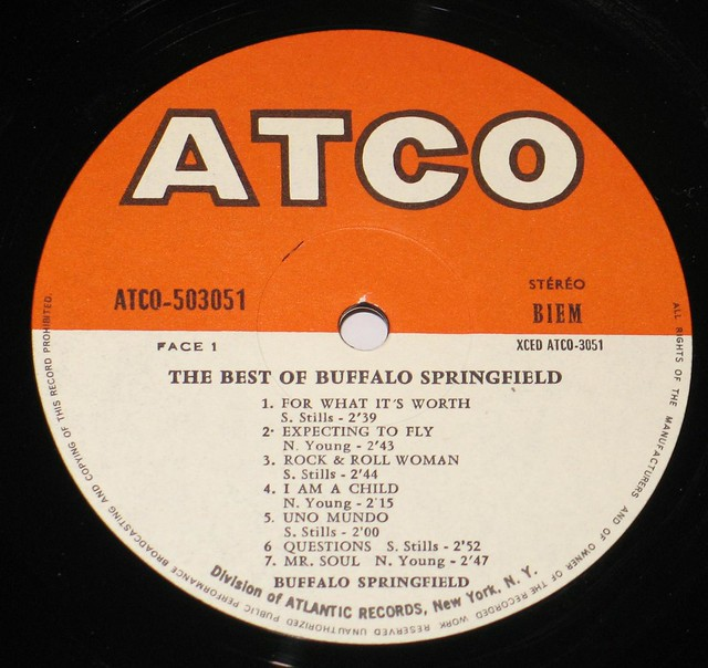 Buffalo Springfield Best of Buffalo Springfield France French