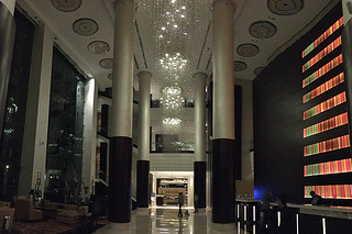 Bangalore - JW Marriot lobby night