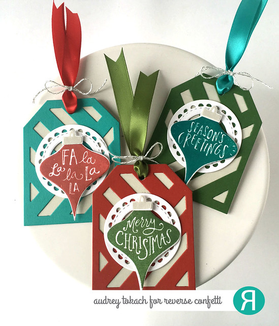 Vintage Ornaments Tags