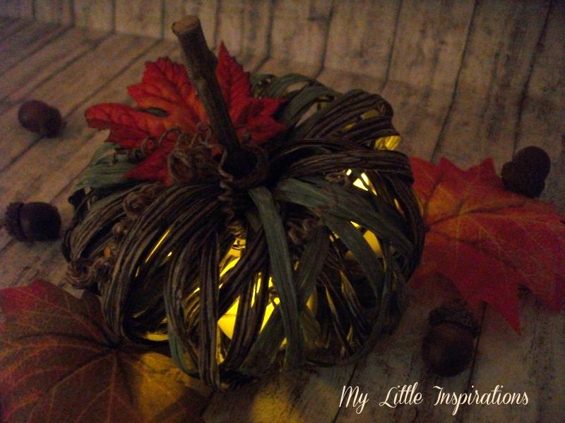 Raffia Pumpkin 11 - MLI