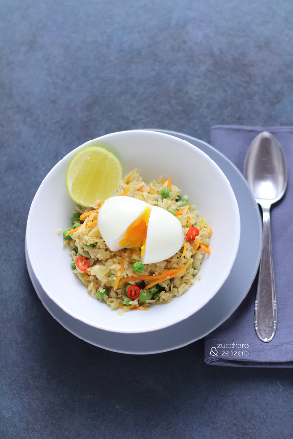 "Cauliflower ""fried rice"""