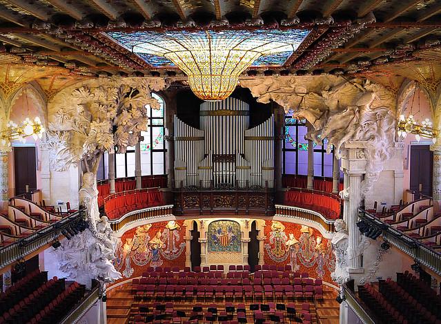 Qué hacer y ver en Barcelona - Palacio de la Música Catalana