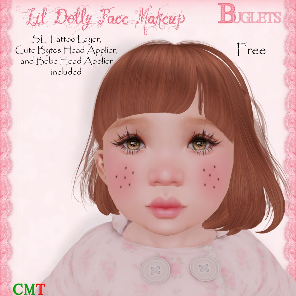 TD Lil Dolly Face Makeup AD