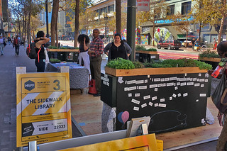 Market St Prototyping Festival - The Sidewalk Library