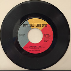 HALL & OATES:SAY IT ISN'T SO(RECORD SIDE-B)