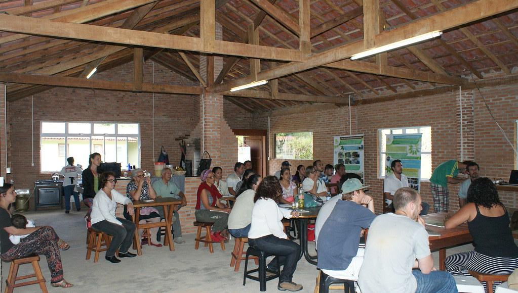 1ª aula do curso Agroecologia e Sociobiodiversidade