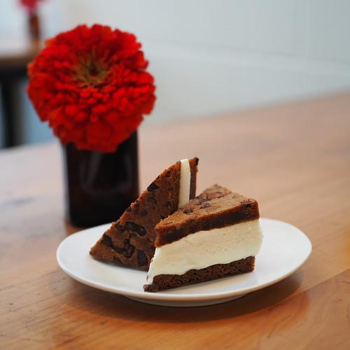 Picnik Blondie Ice Cream sandwich
