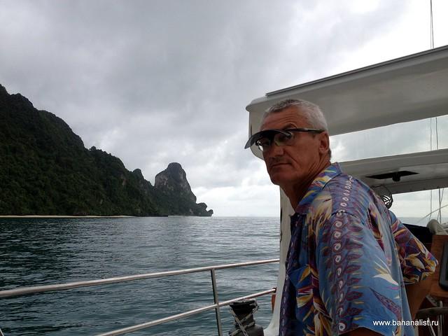 На парусной яхте из Пхукета до Лангкави