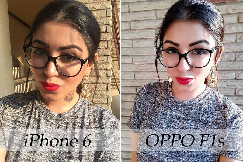 iPhone vs OppoF1s