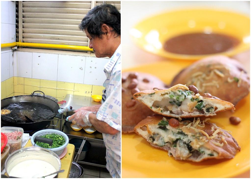 Fu Zhou Poh Hwa Oyster Cake: Mr Tan Frying