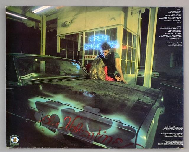 "TOM WAITS BLUE VALENTINE FOC 12"" LP VINYL"