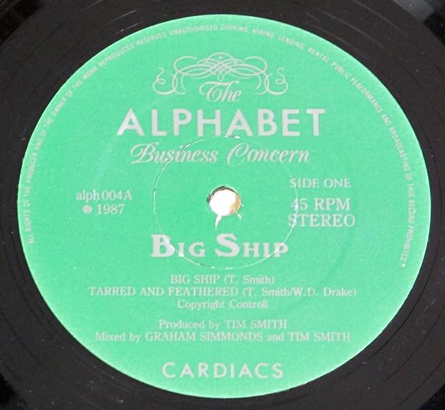 "CARDIACS BIG SHIP + INSERT 12"" LP VINYL"