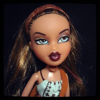 Once #Bratz were cool.. Yasmin from 2003 StrutIt! collection, for #365days project, 255/365
