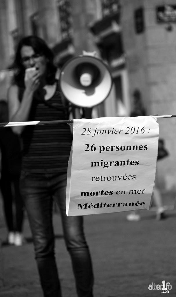 [17 Septembre 2016] - Un jour, une photo... L'été est fini, la Méditerranée redevient un cimetière