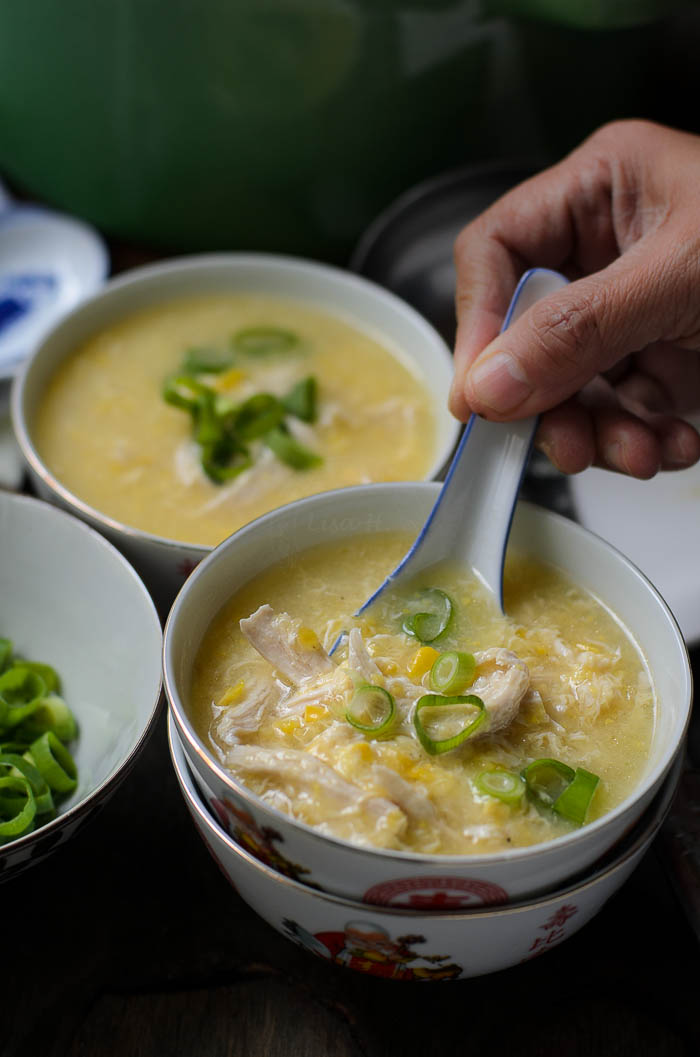Chicken Sweetcorn Soup image