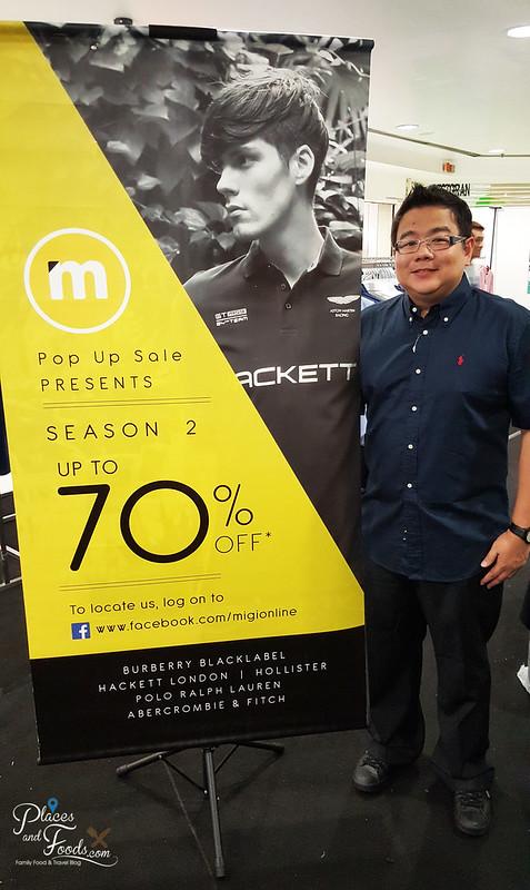 Migi Pop Up Store Season 3 black polo