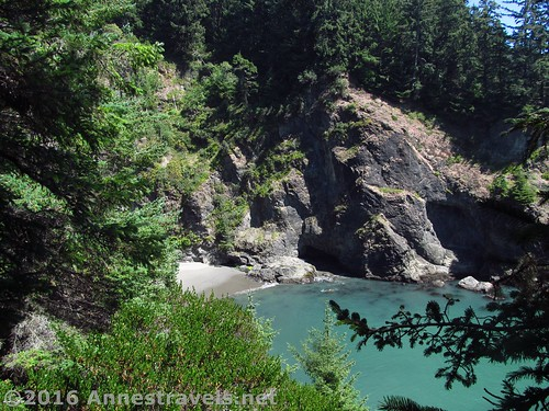 Another view into a cove near Thunder Rock Cove, Samuel H. Boardman State Scenic Corridor, Oregon