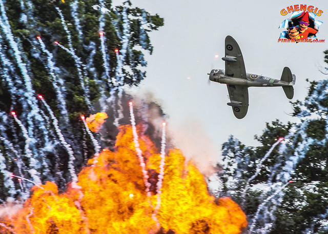 Headcorn Combined Ops Military & Airshow Pyro