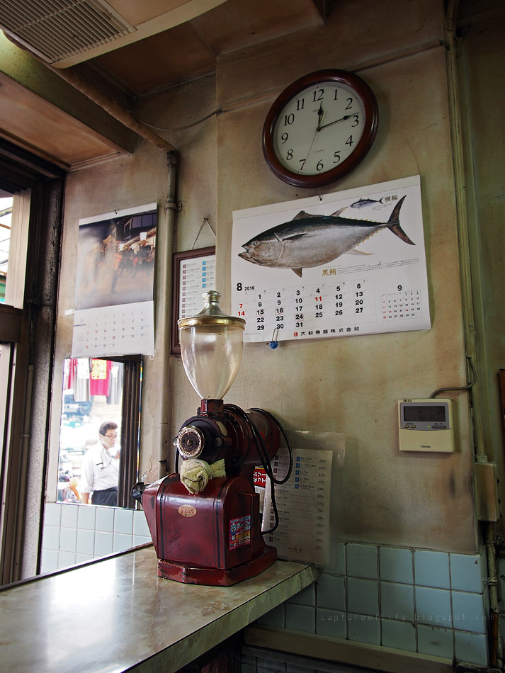 築地的某舊式咖啡店