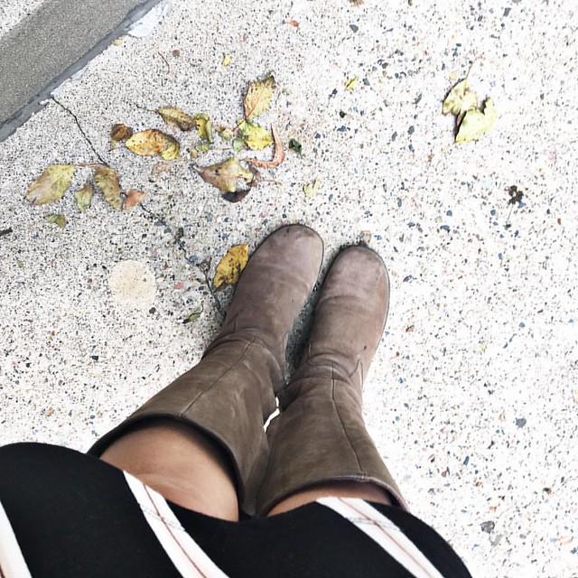 Feels like Fall today so I broke out the boots 💛💛💛 #autumnstyle