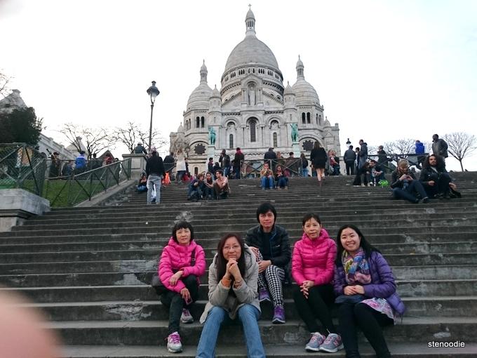 Sacré-Cœur Basilica steps