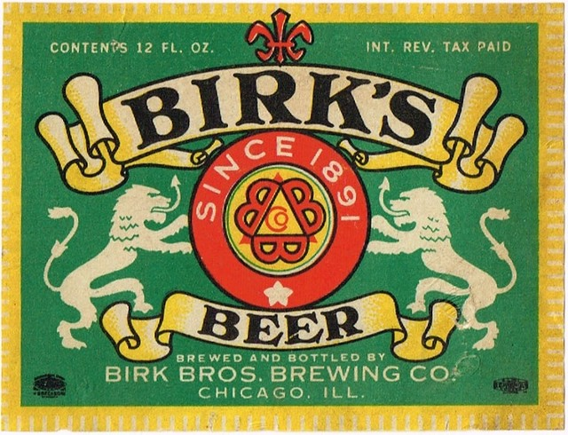 Birks-Beer-Labels-Birk-Bros-Brewing-Company