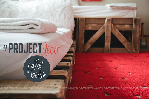 Pallet Bed #PORJECTdecor blog-10 | by Tabitha Blue / Fresh Mommy