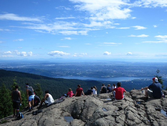 Dog Mountain is one of Vancouver's more popular hikes
