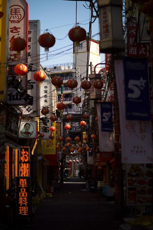 ヨコハマ朝散歩 中華街