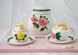 Teapot Birthday Cake | by There for the Baking