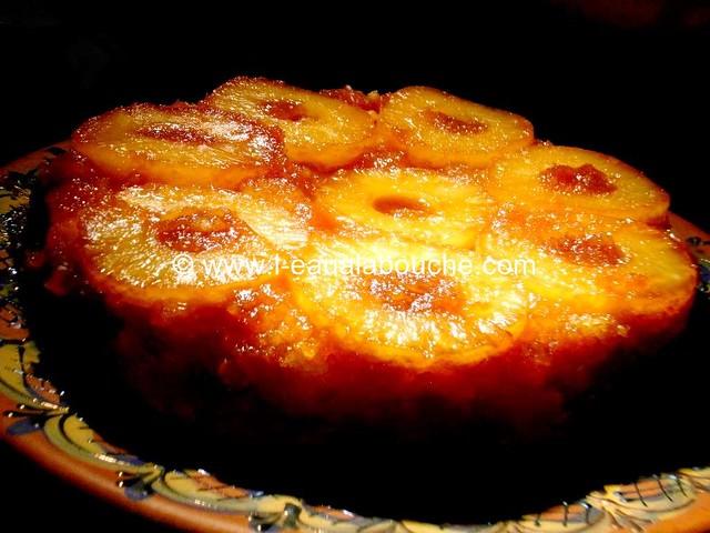 Gateau Renversé à l'Ananas © Ana Luthi Tous droits réservés 0031