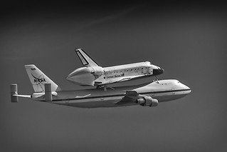 Heading Home - Endeavour - 2012 (B+W #3) | by SJL