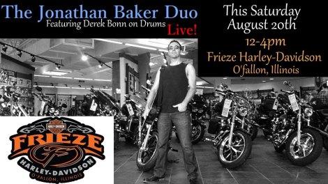 Jonathan Baker Duo 8-20-16