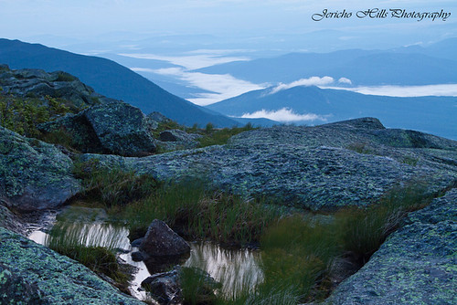 Valley Fog as Seen From Mt. Washington | by Jericho Hills Photography