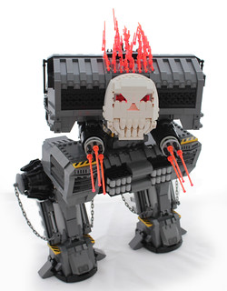 Ghost Rider's Storm Bringer; FBTB Mech Madness Entry. | by Lego Junkie.