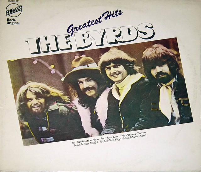 """THE BYRDS GREATEST HITS Embassy EMB 3138112"""" LP"""